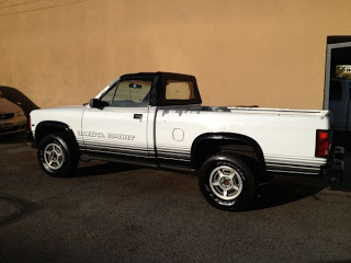 You can't have too many convertible pickups with manual transmissions.
