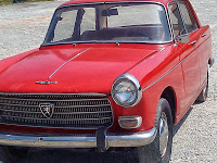Make your own two-fer: Peugeot 404 and parts car