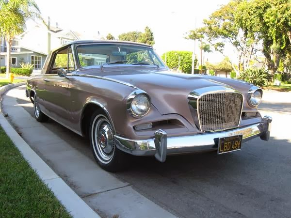 Rare Beauty: Studebaker GT Hawk with Four-Speed