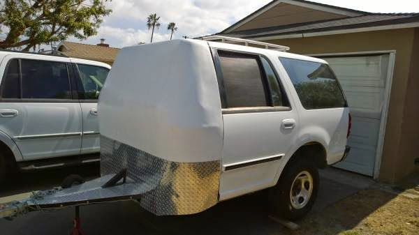 """""""Different"""" Camping Trailer or Second Half for your Expedition"""