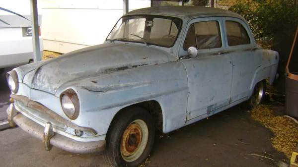 Common 50s French Sedan, Rarely Seen in the US