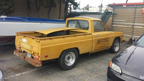 Back to the Future in a Ford Courier?