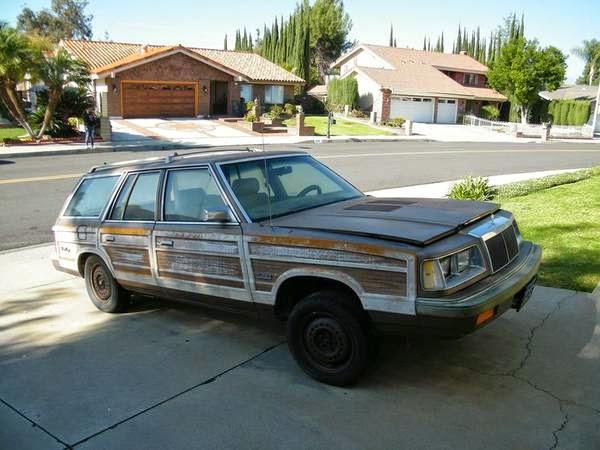 K-Car + Wagon + Turbo + Wood Grain + Brown