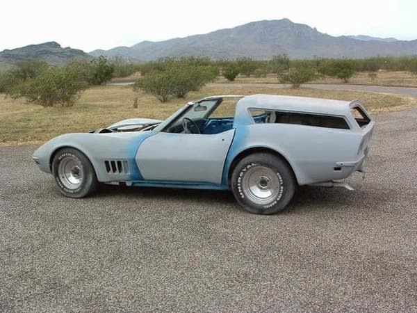 Eckler's 1969 Corvette Shooting Brake