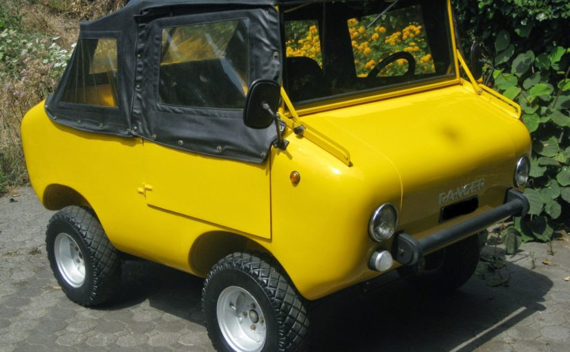 Off-Road Fiat 500 Derivative