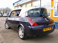 RHD, Manual Renault Avantime