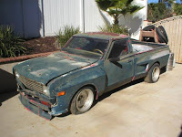 Ran When Parked: 1974 Datsun Pickup with SBC