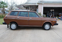 Manual 1979 Subaru Wagon in Beautiful Brown!