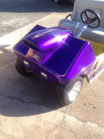 Golf Cart in Drag