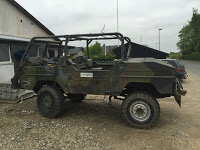 Mid-Engine Military Volvo