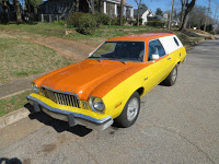 Mercury-Branded Pinto Cruising Wagon with Manual Trans