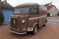 Beautiful Brown Citroen HY Van