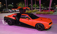 765 RWHP, 6MT Dodge Challenger with Gullwing Rear Doors