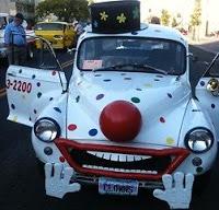 Morris Minor Clown Car