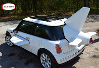 Mini Cooper Airplane Car