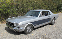 1966 Mustang Turbo Coupe
