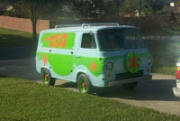 1963 Econoline Mystery Machine Replica