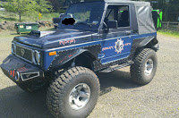 Modified 1988 Suzuki Samurai with VW TDI Power