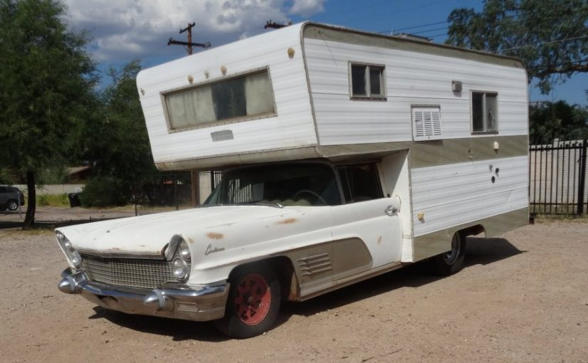 Lamper or Contamper? 1960 Lincoln Continental Camper Conversion