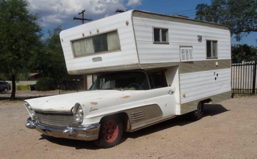 Lamper or Contamper? 1960 Lincoln Continental Camper Conversion