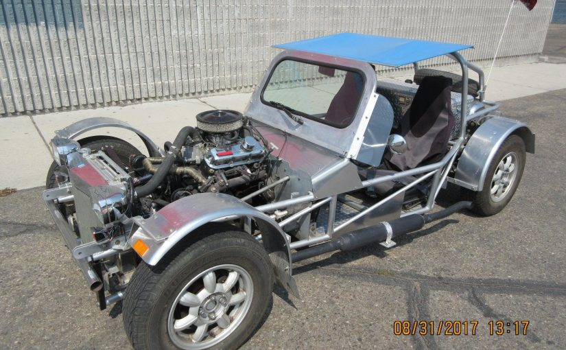 """Fun Ride"" Custom Buggy with Miata bits and GM V6 Power"