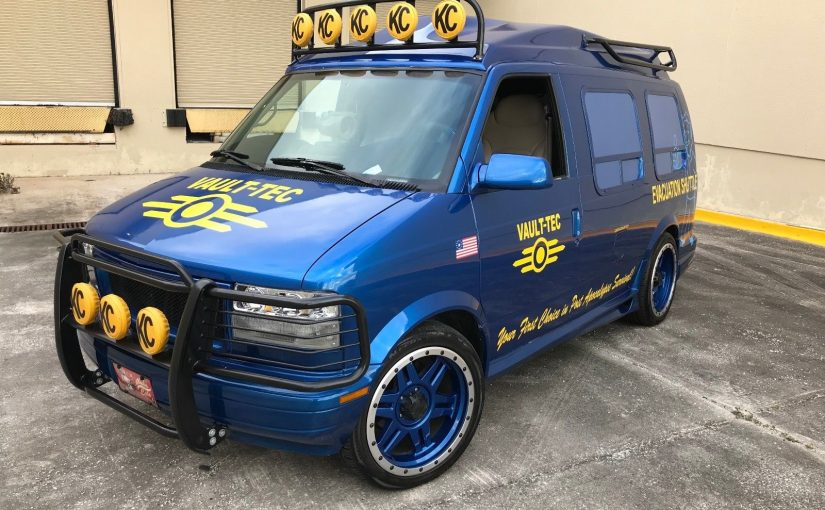Fallout Fans, Here's Your Chevy Astro Evacuation Vehicle!